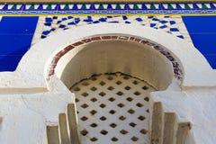 Μαυριτανικό αραβικό σχέδιο Arabesque αψίδων στοκ εικόνα