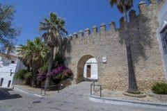 Μαυριτανικό κάστρο του Λα Frontera Vejer de σε Ανδαλουσία Στοκ εικόνα με δικαίωμα ελεύθερης χρήσης