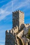 Μαυριτανικό κάστρο, Sintra Στοκ Φωτογραφίες