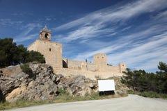 Μαυριτανικό φρούριο Antequera, Ισπανία Στοκ εικόνες με δικαίωμα ελεύθερης χρήσης