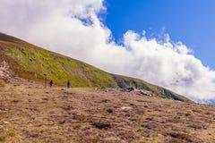 Μαυροβούνια κορυφογραμμή Carpathians Στοκ Φωτογραφία