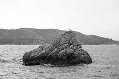 Μαυροβούνιο, αδριατική θάλασσα Στοκ εικόνες με δικαίωμα ελεύθερης χρήσης