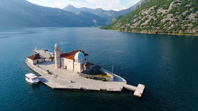 Μαυροβούνιο, πυροβολισμός αέρα κόλπων απόθεμα βίντεο