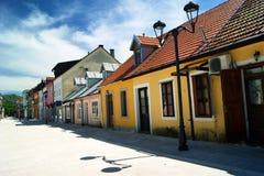 Μαυροβούνιο, Cetinje - οδός Njegos του 05/28/2014 στοκ φωτογραφία με δικαίωμα ελεύθερης χρήσης