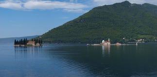 Μαυροβούνιο perast Στοκ εικόνα με δικαίωμα ελεύθερης χρήσης
