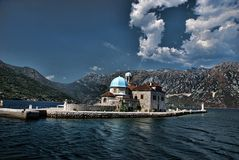 Μαυροβούνιο perast Στοκ Εικόνες