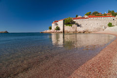Μαυροβούνιο ST Stefan Στοκ εικόνες με δικαίωμα ελεύθερης χρήσης