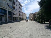 Μαυροβούνιο, Tivat Στοκ εικόνα με δικαίωμα ελεύθερης χρήσης