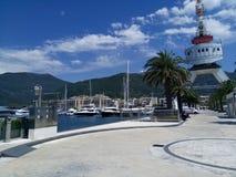 Μαυροβούνιο, Tivat Στοκ φωτογραφία με δικαίωμα ελεύθερης χρήσης