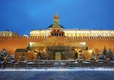 Μαυσωλείο Λένιν στη Μόσχα ο στοκ εικόνες
