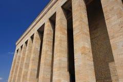 Μαυσωλείο Ataturk Στοκ φωτογραφίες με δικαίωμα ελεύθερης χρήσης