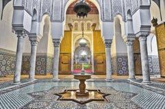 μαυσωλείο meknes Μαρόκο του Ismail moulay Στοκ φωτογραφίες με δικαίωμα ελεύθερης χρήσης