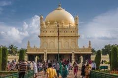 Μαυσωλείο σουλτάνων Tipu, Mysore, Ινδία Στοκ Φωτογραφίες