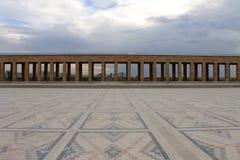 Μαυσωλείο Anitkabir Ataturk, Άγκυρα, Τουρκία Στοκ εικόνα με δικαίωμα ελεύθερης χρήσης