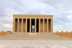 Μαυσωλείο Anitkabir Ataturk, Άγκυρα, Τουρκία Στοκ φωτογραφίες με δικαίωμα ελεύθερης χρήσης