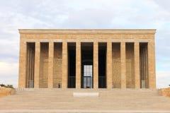 Μαυσωλείο Anitkabir Ataturk, Άγκυρα, Τουρκία Στοκ φωτογραφία με δικαίωμα ελεύθερης χρήσης