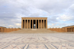 Μαυσωλείο Anitkabir Ataturk, Άγκυρα, Τουρκία Στοκ Φωτογραφίες