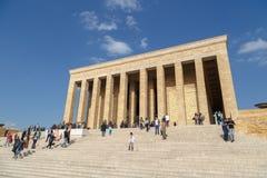 Μαυσωλείο Ataturk Στοκ εικόνες με δικαίωμα ελεύθερης χρήσης