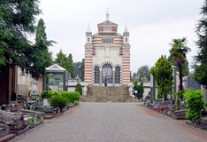 Μαυσωλείο Monumentale Cimitero Στοκ Εικόνες
