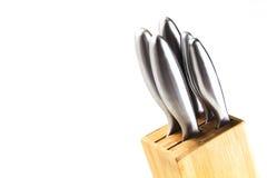 Μαχαίρια κουζινών στη στάση Στοκ Εικόνες