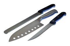 Μαχαίρια κουζινών Στοκ φωτογραφία με δικαίωμα ελεύθερης χρήσης