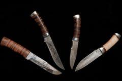 μαχαίρια ρωσικά κυνηγιού Στοκ Εικόνες