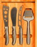 μαχαίρια τυριών Στοκ Εικόνες