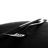 μαχαίρι δικράνων ανασκόπησης Στοκ εικόνα με δικαίωμα ελεύθερης χρήσης