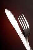 μαχαίρι δικράνων Στοκ εικόνες με δικαίωμα ελεύθερης χρήσης