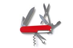 μαχαίρι Ελβετός στρατού Στοκ Εικόνες