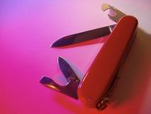 μαχαίρι Ελβετός στρατού Στοκ Φωτογραφία