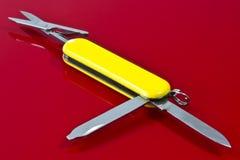 μαχαίρι Ελβετός Στοκ Εικόνες