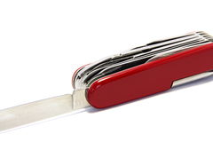 μαχαίρι Ελβετός Στοκ Φωτογραφία