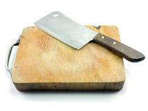 Μαχαίρι και τέμνον χαρτόνι Στοκ εικόνα με δικαίωμα ελεύθερης χρήσης