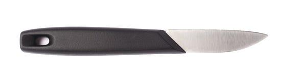 Μαχαίρι κουζινών χάλυβα που απομονώνεται Στοκ φωτογραφίες με δικαίωμα ελεύθερης χρήσης