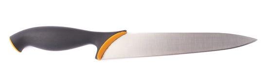 Μαχαίρι κουζινών χάλυβα που απομονώνεται Στοκ φωτογραφία με δικαίωμα ελεύθερης χρήσης