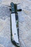 μαχαίρι κυνηγιού Στοκ Φωτογραφίες