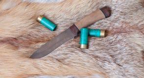 μαχαίρι κυνηγιού Στοκ φωτογραφίες με δικαίωμα ελεύθερης χρήσης