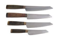 Μαχαίρι σε ένα άσπρο υπόβαθρο απεικόνιση αποθεμάτων