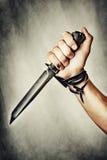 Μαχαίρι στη διάθεση στοκ εικόνες με δικαίωμα ελεύθερης χρήσης