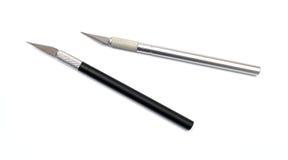 Μαχαίρι τεχνών Aluminim Στοκ Εικόνες