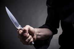 Μαχαίρι χάλυβα Στοκ Φωτογραφίες