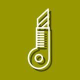 Μαχαίρι χαρτικών ελεύθερη απεικόνιση δικαιώματος