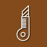 Μαχαίρι χαρτικών απεικόνιση αποθεμάτων
