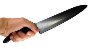 μαχαίρι χεριών Στοκ Εικόνες