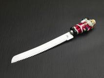 μαχαίρι Χριστουγέννων στοκ εικόνες