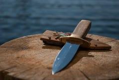 Μαχαίρι στοκ εικόνες με δικαίωμα ελεύθερης χρήσης