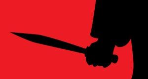 Μαχαίρι διανυσματική απεικόνιση