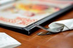 Μαχαιροπήρουνα εστιατορίων Στοκ Εικόνες