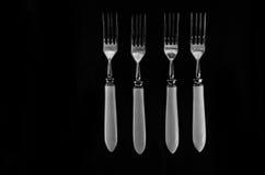 Μαχαιροπήρουνα και πιατικά Στοκ φωτογραφία με δικαίωμα ελεύθερης χρήσης